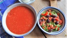 Tomatensalsa,Guacamole,Salat und Ei (11)