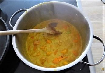 Kürbiscurry,Couscous, Guacamole,Salat (18)