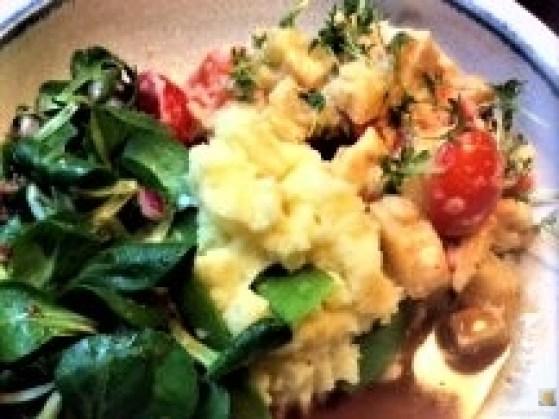 Pastinakengemüse mit Tomaten und Kartoffelstampf (14)