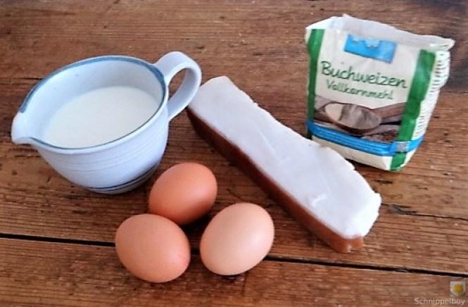 Buchweizenpfannkuchen,Ruccolapesto,Quittenkompott (10)