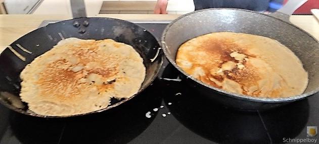 Buchweizenpfannkuchen,Ruccolapesto,Quittenkompott (23)