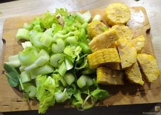 Gemüse und Hackbällchen orientalisch (9)