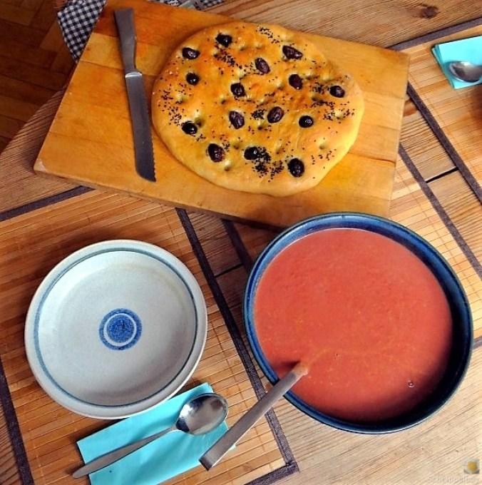 Schwarze Karottensuppe, revival. (3)