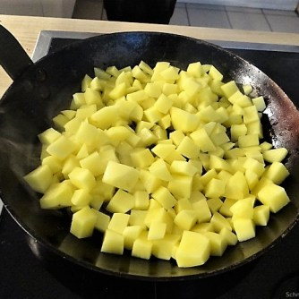 Topinambur,Champignon, Kartoffeln,roh gebraten (11)
