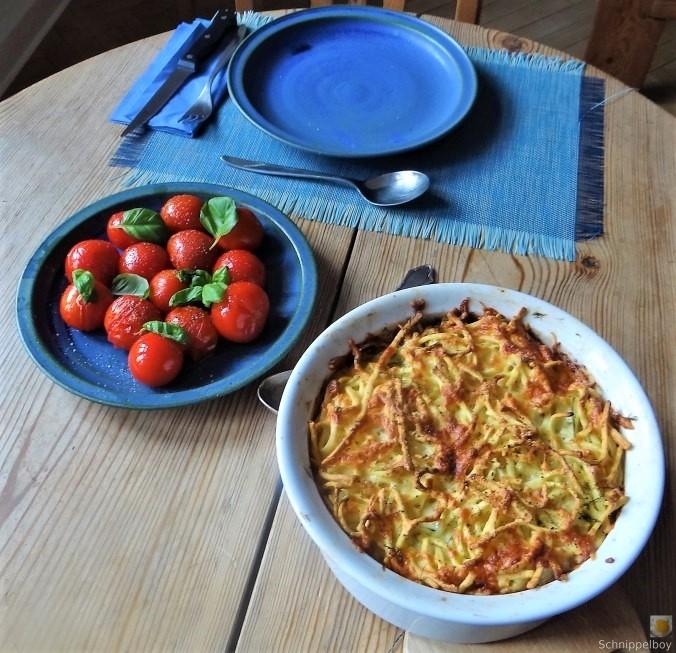 Fenchel Auflauf und Tomaten (4)