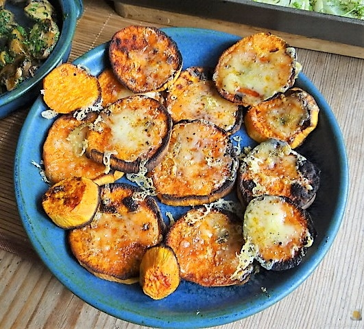 Fenchel,Süßkartoffeln und Champignon (22)