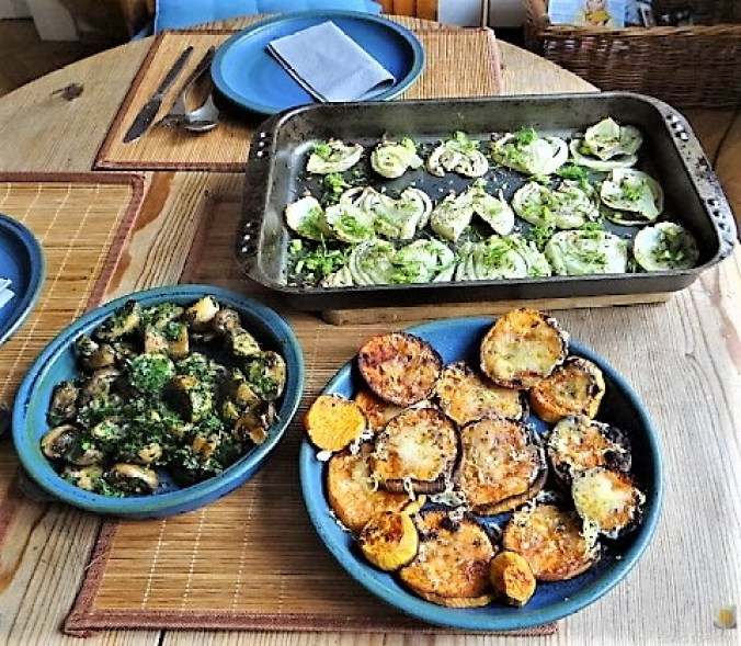 Fenchel,Süßkartoffeln und Champignon (27)