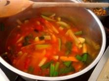 Kichererbsen, Gemüse, Couscous (15)