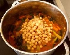 Kichererbsen, Gemüse, Couscous (20)