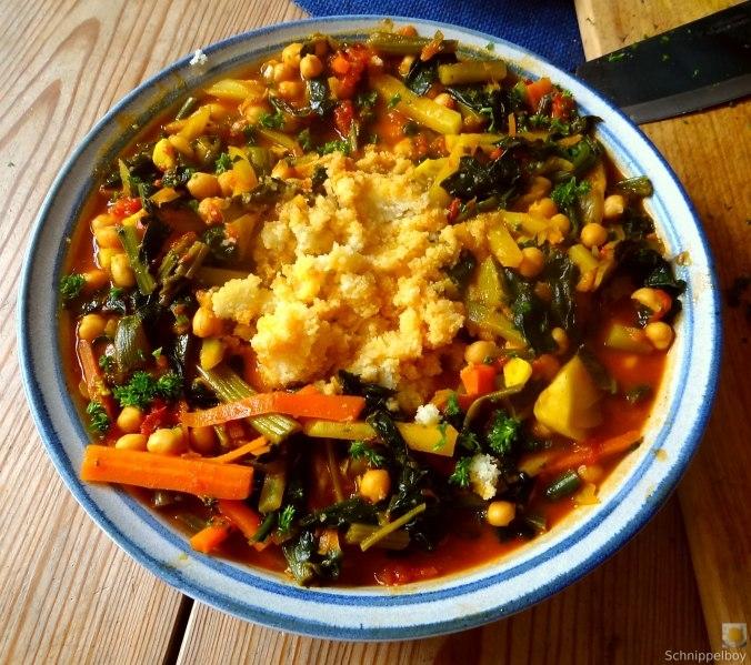 Kichererbsen, Gemüse, Couscous (22)