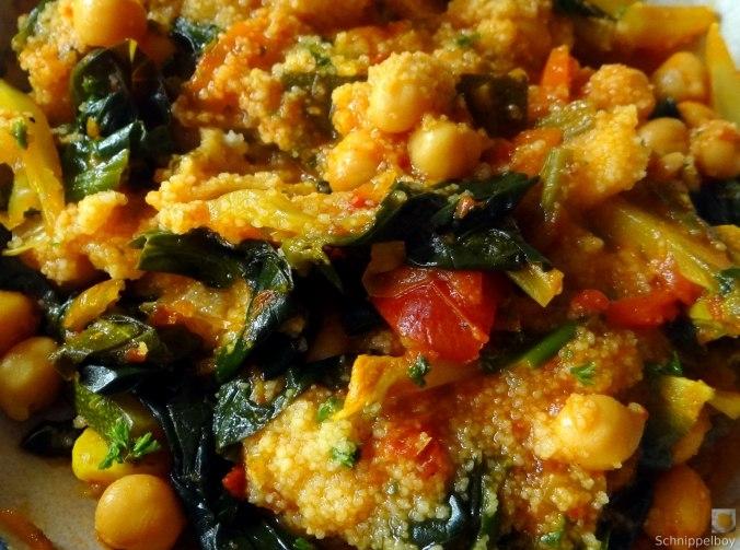 Kichererbsen, Gemüse, Couscous (25)