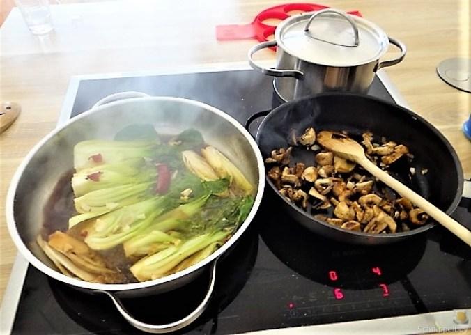 Roter Reis und Gemüse (16)