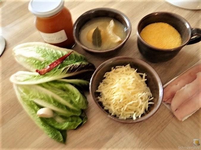 Gebratener Salat mit Polenta (6)
