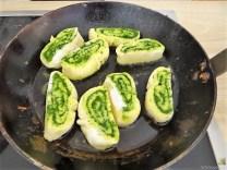 Kartoffel-Bärlauch Schnecken mit Tomatensauce (24)