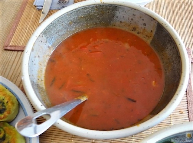 Kartoffel-Bärlauch Schnecken mit Tomatensauce (32)