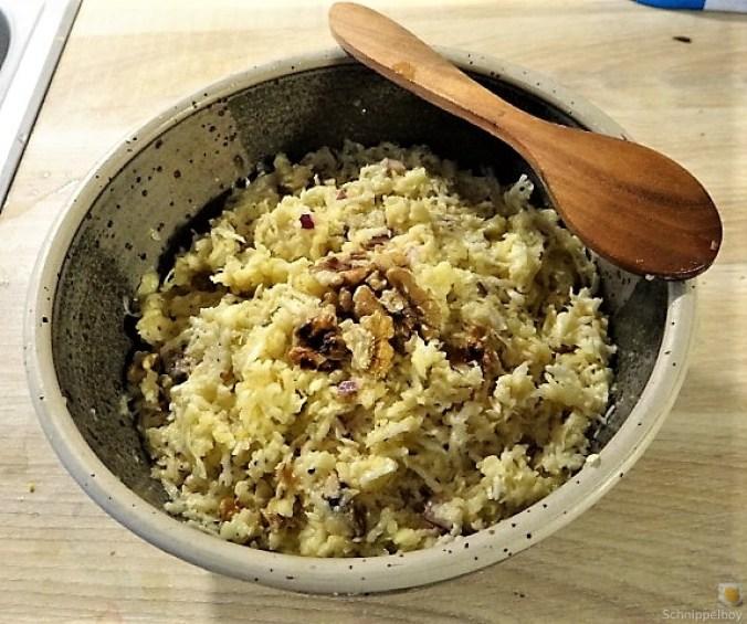 Waldorfsalat, Rote Bete Salat, Brathering (5)