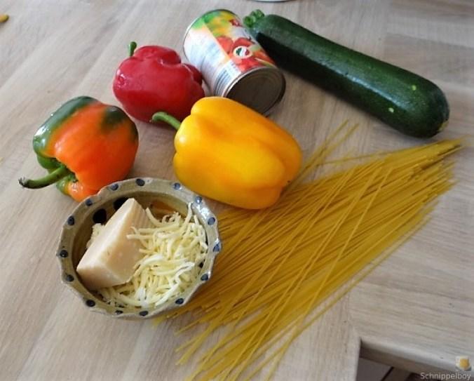 Zucchini Zoodles, Spaghetti, Felfsalat (9)