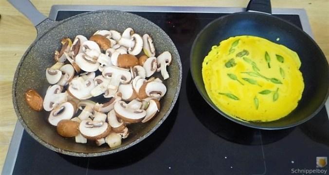 Eierpfannkuchen mit Knospen vom Bärlauch und Löwenzahn (22)