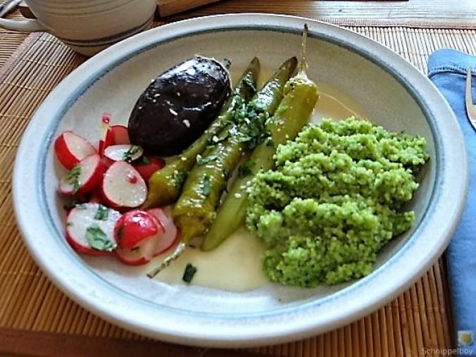 Gemüse mit Bärlauch Couscous (1)