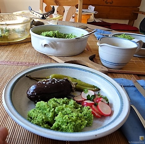 Gemüse mit Bärlauch Couscous (12)