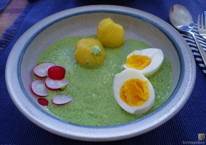 Grüne Sauce mit Wildkräutern (2)