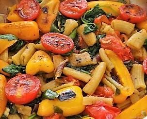 Gemüse-Nudel Pfanne (11)