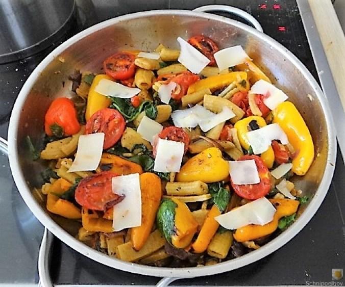 Gemüse-Nudel Pfanne (12)