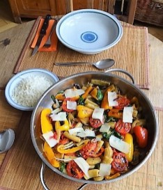 Gemüse-Nudel Pfanne (13)
