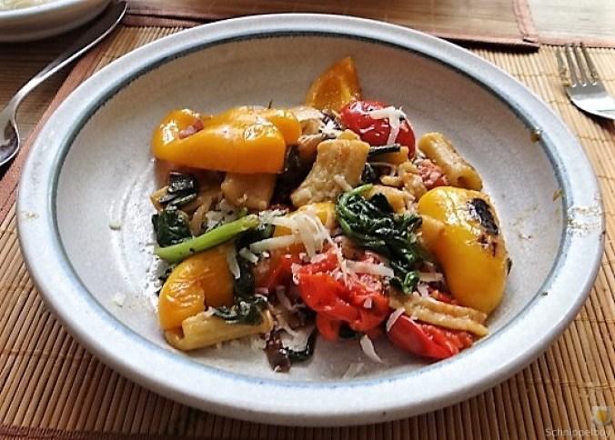 Gemüse-Nudel Pfanne (17)