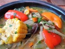 Gemüsesuppe mit Glasnudeln (28)