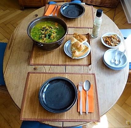 Gemüsesuppe mit Glasnudeln (7)