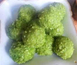 Grüne Klöße, Grüner Spargel, Zitronensauce (18)