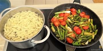 Spirelli,Spargel und Tomaten (22)