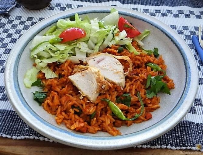 Tomatenreis und Salat (15)