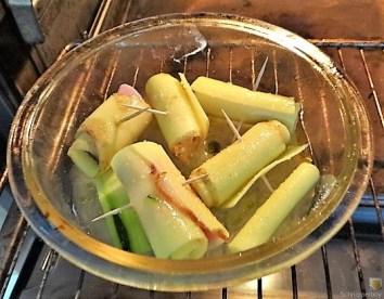 Zucchini und Kartoffelröllchen mit Fetacreme (17)