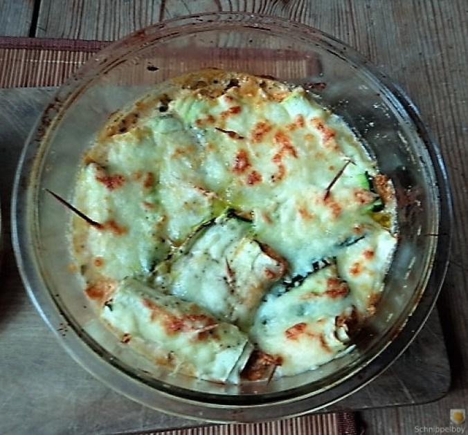 Zucchini und Kartoffelröllchen mit Fetacreme (19)