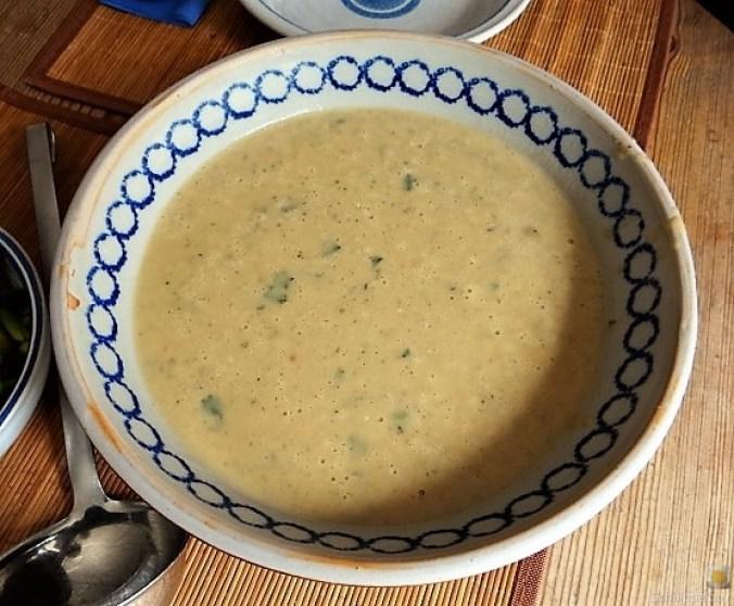 Kartoffel-Kohlrabisuppe mit grünem Spargel (3)