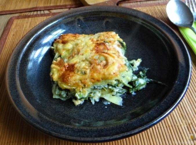 Kartoffel-Spinat Lasagne (1)