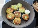Kartoffel-Spinat Taler, Champignon, Tomaten-Avocado Salat (23)