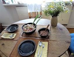 Kartoffelsalat, Nordseekrabben, Erdbeeren (19)