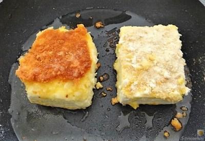Kartoffelstampf mit Feta, Paprikasauce, Gurkensalat und ein Blattsalat (12)