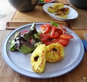 Kloßscheiben und Salate (21)