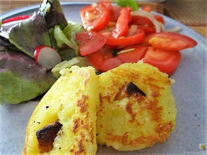 Kloßscheiben und Salate (25)