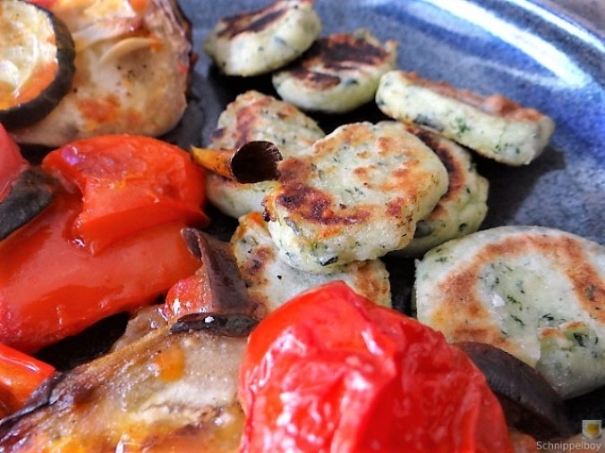 Ratatouille in der Pfanne und Spinat Gnocchis (5)