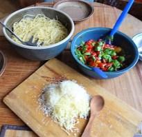 Spaghetti-Keka und Kirsch-Crumble (14)