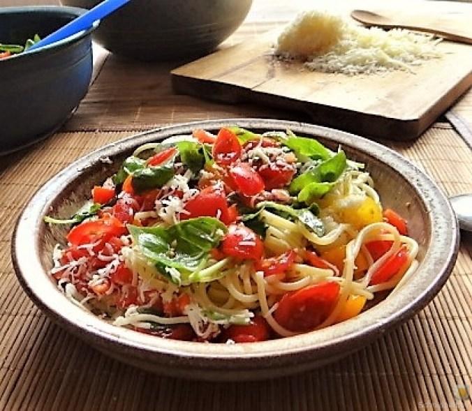 Spaghetti-Keka und Kirsch-Crumble (17)