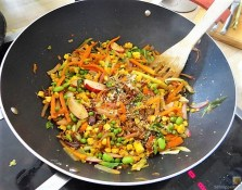 Wokgemüse mit Reisnudeln (17)