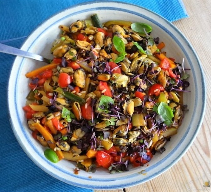 Gemüse,Reis,Muscheln (23)