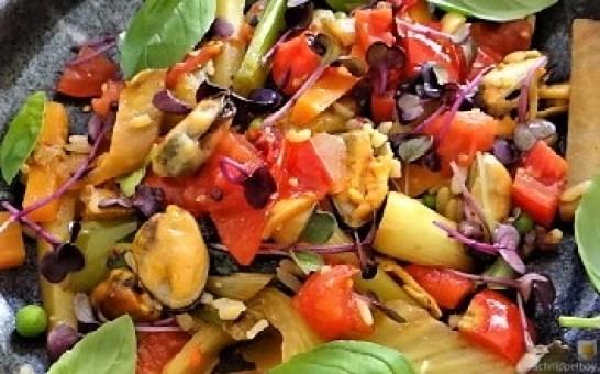 Gemüse,Reis,Muscheln (3)