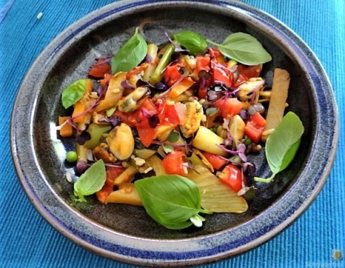 Gemüse,Reis,Muscheln (4)
